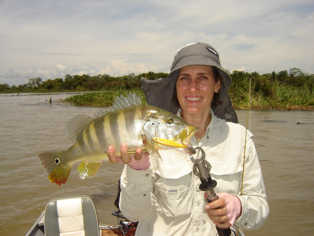 Pesca na Represa Sérgio Motta/SP