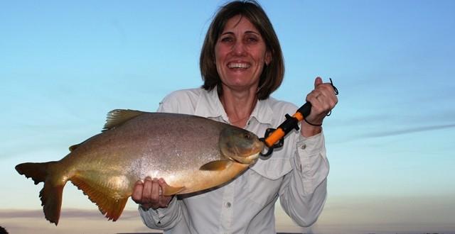 Pesca em Represa Rosana em Teodoro Sampaio/SP