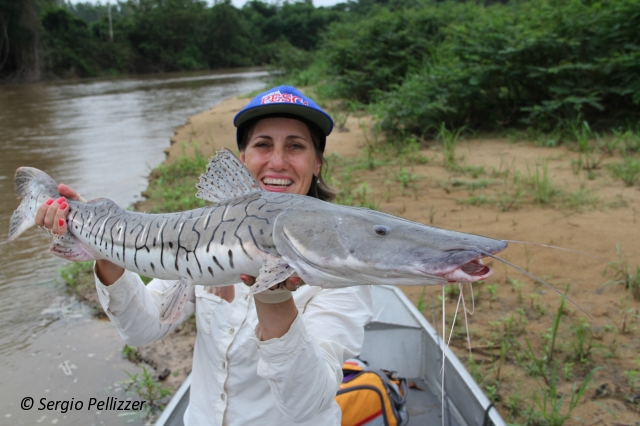 Pesca no Rio Guaporé em Cabixi/RO