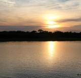 amanhecer no pier da pousada margem rio mutum -IMG_7235