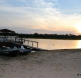 amanhecer no pier da pousada margem rio mutum -IMG_7240
