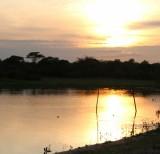amanhecer no pier da pousada margem rio mutum -IMG_7246
