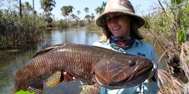 Pesca no rio Suiá Miçu em Querência/MT