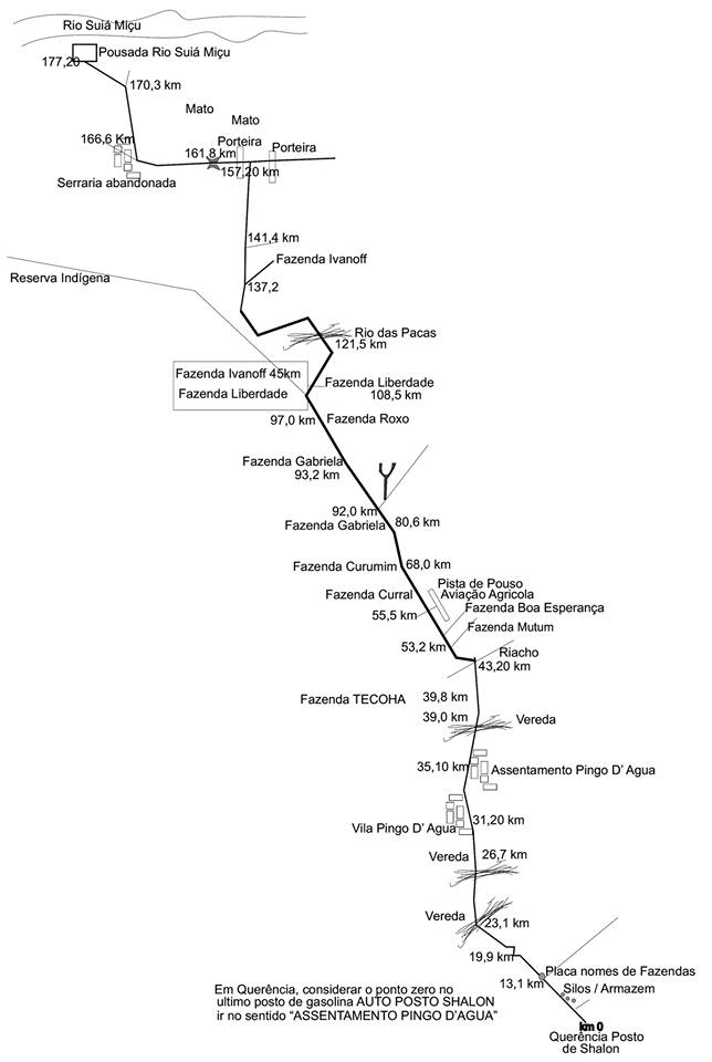 mapa Suiá