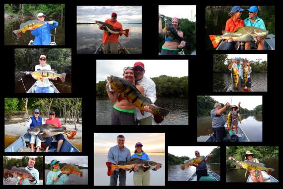 Pesca no Rio Negro em Casais 2014 em Barcelos/AM