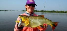 Pesca no rio Paraguai em Porto Morrinho/MS