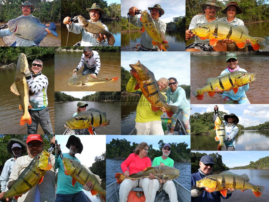 Pesca no Rio Negro 2015 em Barcelos/AM