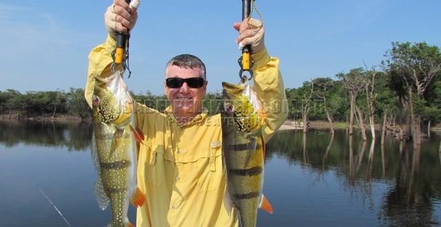 Pescaria no rio Tupana/AM