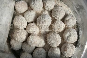 bolinhas base de soja